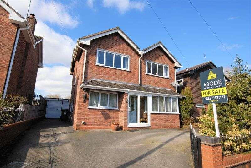 4 Bedrooms Detached House for sale in Jasmine Close, Blythe Bridge, Stoke-On-Trent