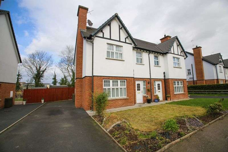 3 Bedrooms Semi Detached House for sale in 63 Lisnisky Lodge, Portadown