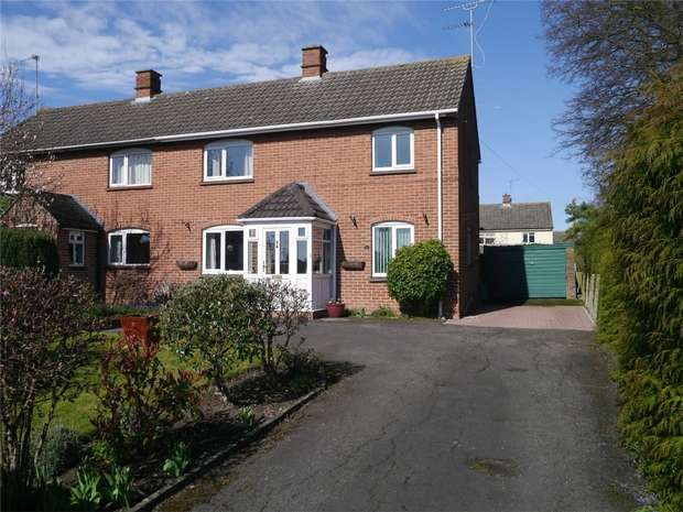 3 Bedrooms Semi Detached House for sale in Ashchurch Road, Newtown, Tewkesbury, Gloucestershire