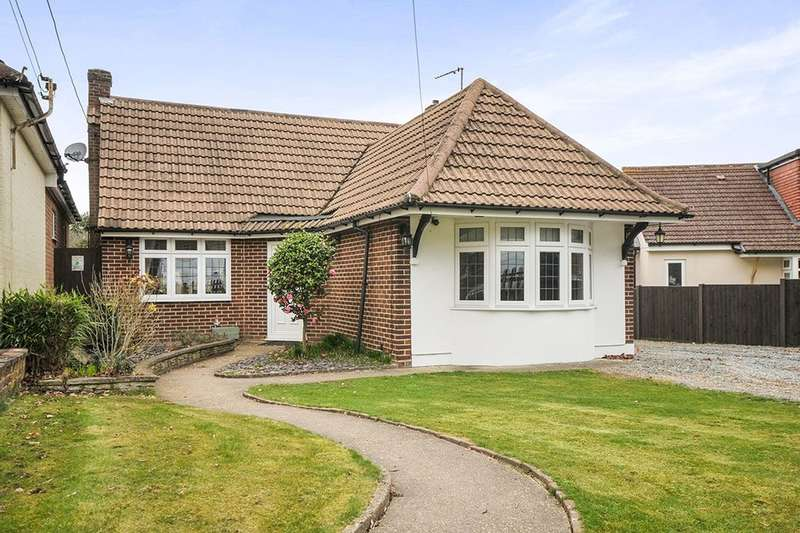 3 Bedrooms Detached Bungalow for sale in Hever Avenue, West Kingsdown, Sevenoaks, TN15