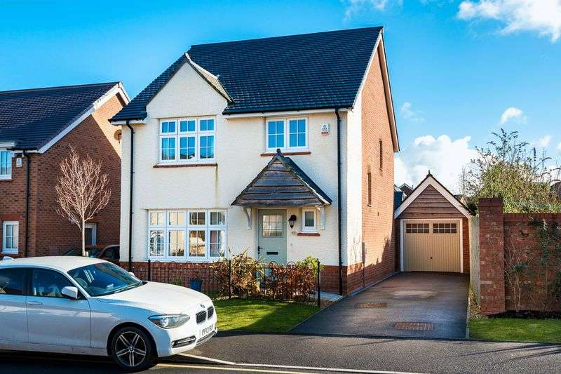4 Bedrooms Detached House for sale in Stone Mason Crescent, Ormskirk