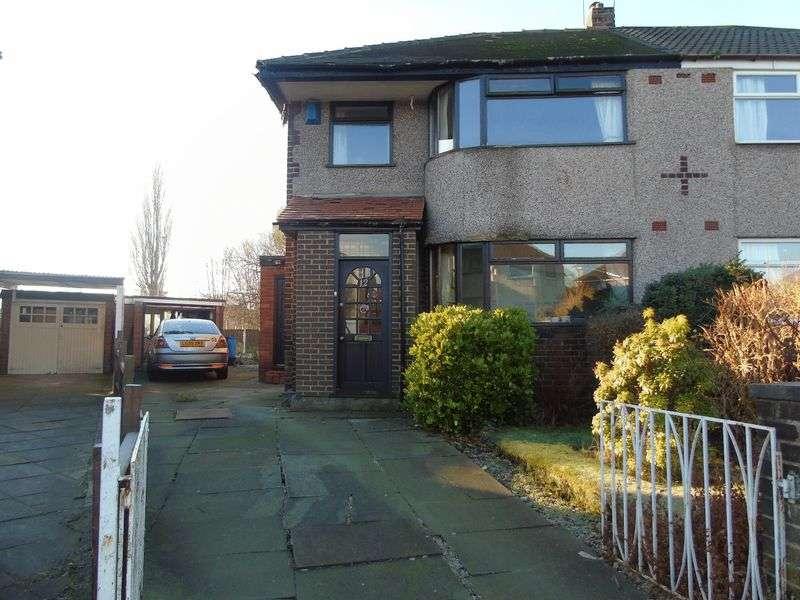 3 Bedrooms Semi Detached House for sale in Laurel Road, Prescot