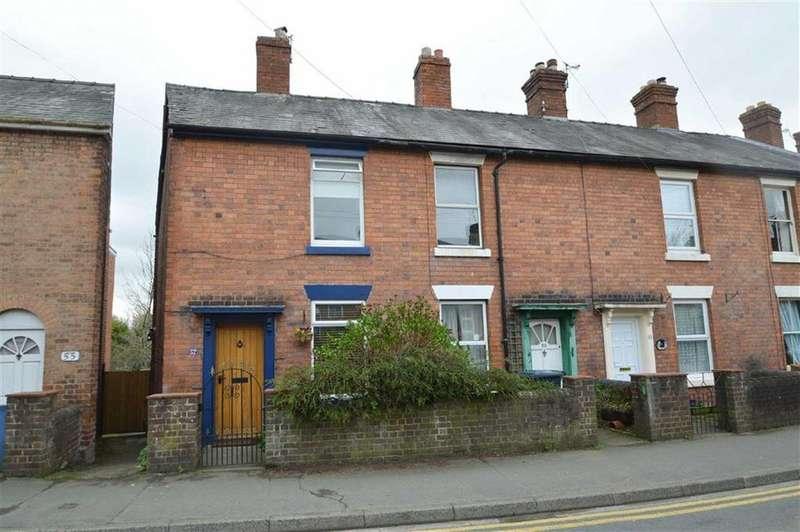 2 Bedrooms Terraced House for sale in Hereford Road, Belle Vue, Shrewsbury