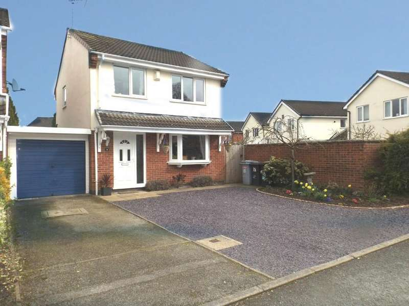 3 Bedrooms Detached House for sale in Bickley Close, Hough