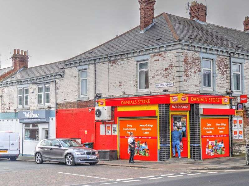 Property for sale in Danials Newsagents, 270 High Street East, Wallsend