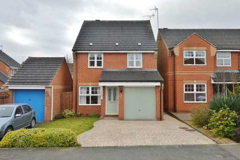 4 Bedrooms Detached House for sale in Lockside View, Rugeley