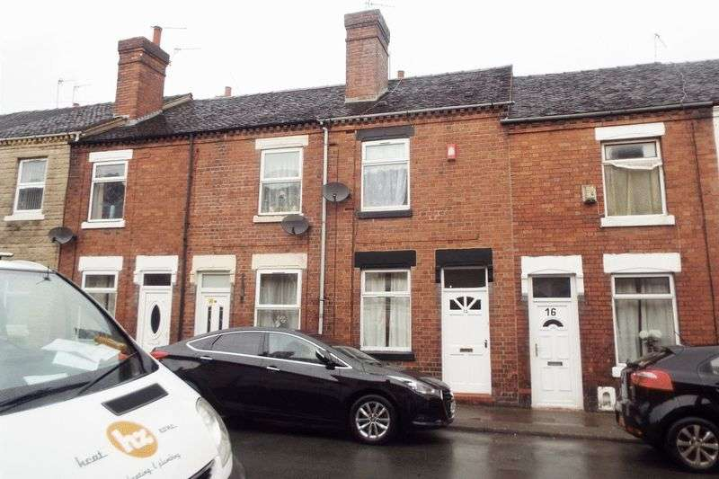 2 Bedrooms Terraced House for sale in Chilton Street, Stoke-On-Trent
