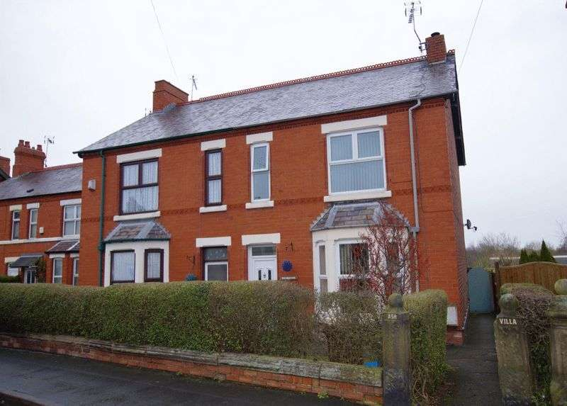4 Bedrooms Semi Detached House for sale in Hawarden Road, Caergwrle, Wrexham