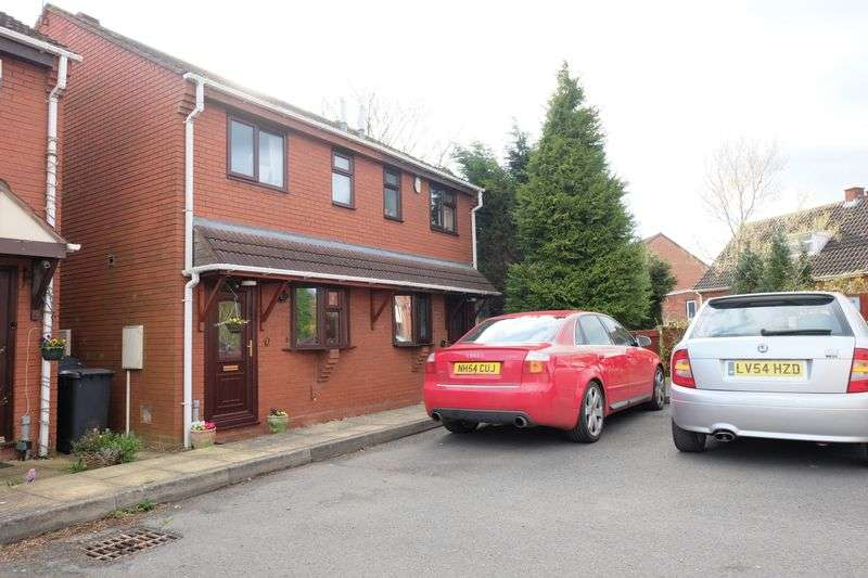 2 Bedrooms Semi Detached House for sale in Abbotts Close, Stourport on Severn DY13 9JZ
