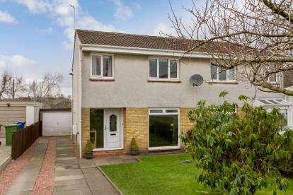 3 Bedrooms Semi Detached House for sale in Glenwood Gardens, Lenzie, Glasgow