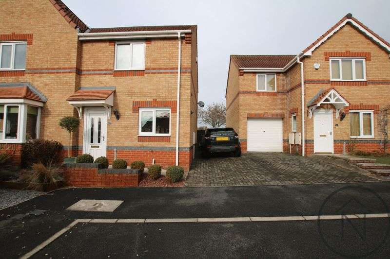 2 Bedrooms Semi Detached House for sale in Merlin Court, Newton Aycliffe
