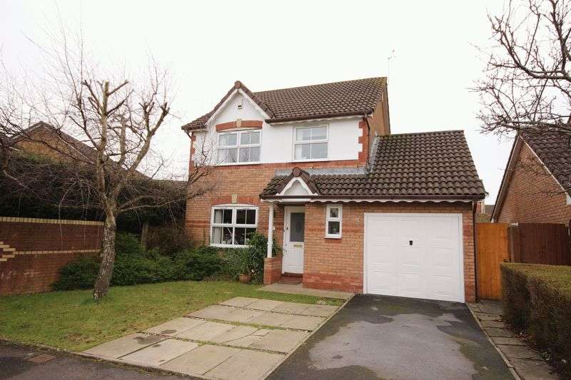 3 Bedrooms Detached House for sale in Meadowsweet Drive, St Mellons