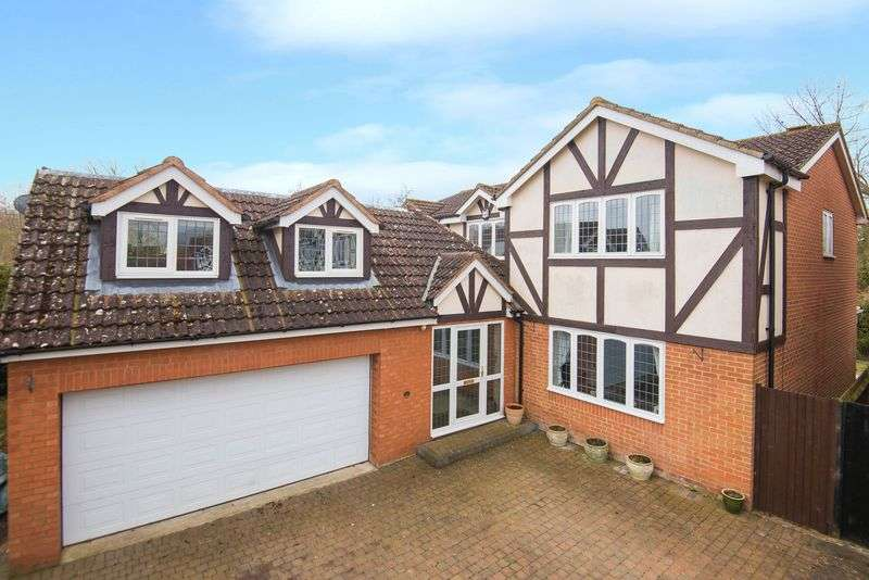 5 Bedrooms Detached House for sale in Stunning Detached Family Home, Mill End Close, Eaton Bray