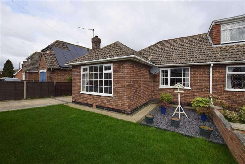 2 Bedrooms Semi Detached Bungalow for sale in Burcom Avenue, Humberston, North East Lincolnshire