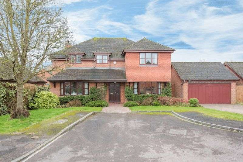 4 Bedrooms Detached House for sale in Field Gardens, Steventon
