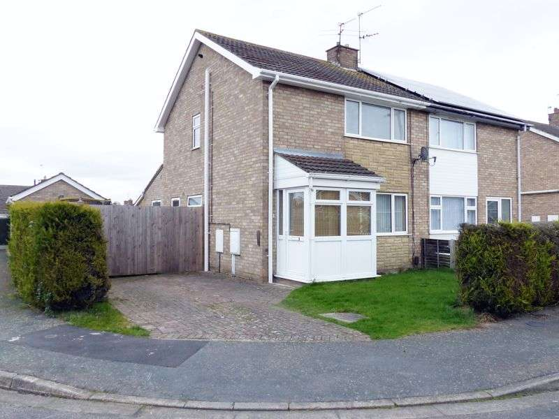 3 Bedrooms Semi Detached House for sale in Pullan Close, Lincoln