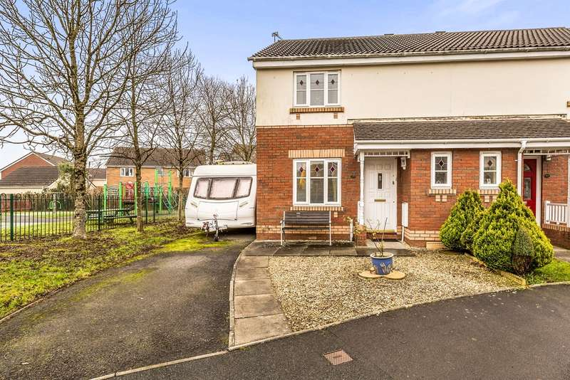 3 Bedrooms Semi Detached House for sale in Maes Y Wennol, Miskin, Pontyclun