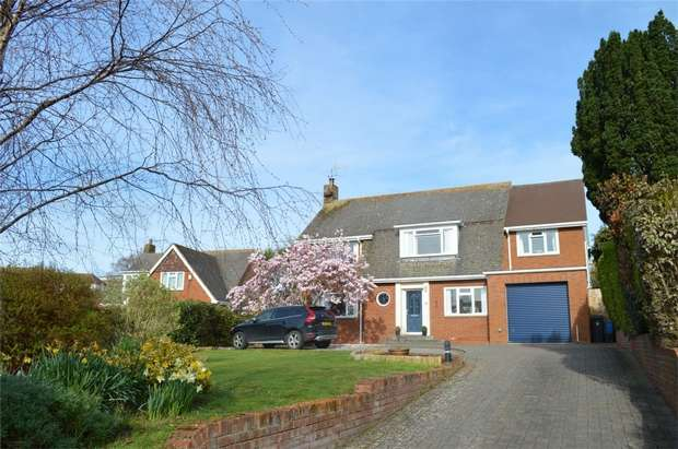 5 Bedrooms Detached House for sale in 8 Colvin Close, EXMOUTH, Devon