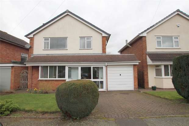 3 Bedrooms Detached House for sale in Lomax Close, Lichfield, Staffordshire