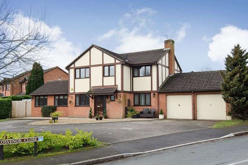 4 Bedrooms Detached House for sale in Quarry Hill Lane, Lichfield