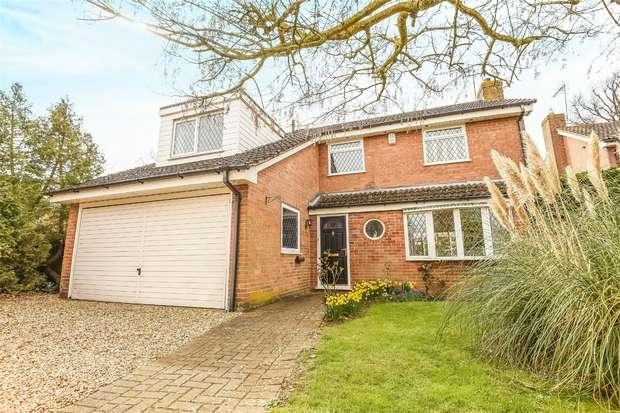 4 Bedrooms Detached House for sale in Greenacres Avenue, WINNERSH, Berkshire