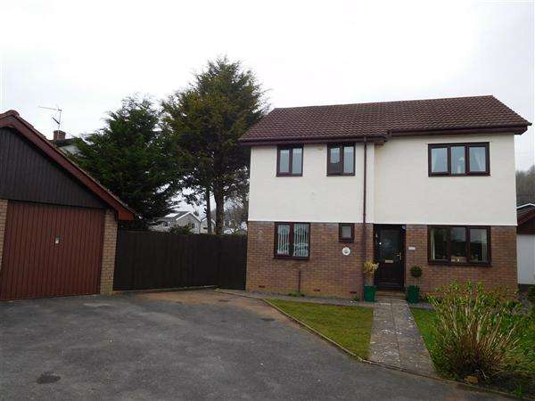 4 Bedrooms Detached House for sale in Millbrook Court, Magor
