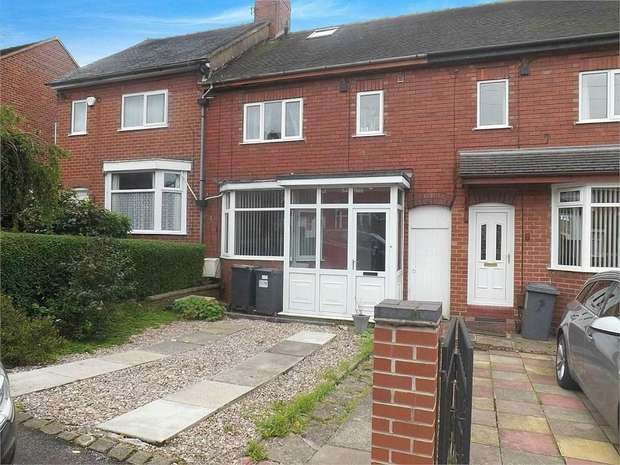 2 Bedrooms Terraced House for sale in Hughes Avenue, Newcastle, Staffordshire