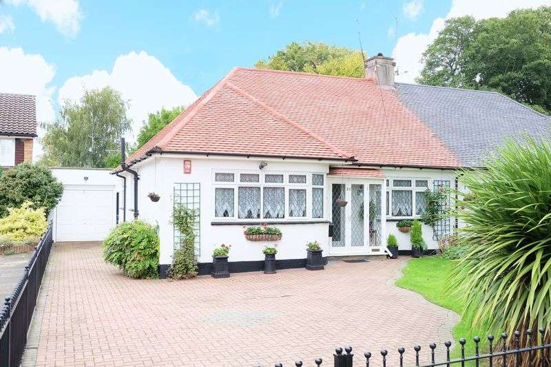 2 Bedrooms Semi Detached Bungalow for sale in High Beeches, Sidcup