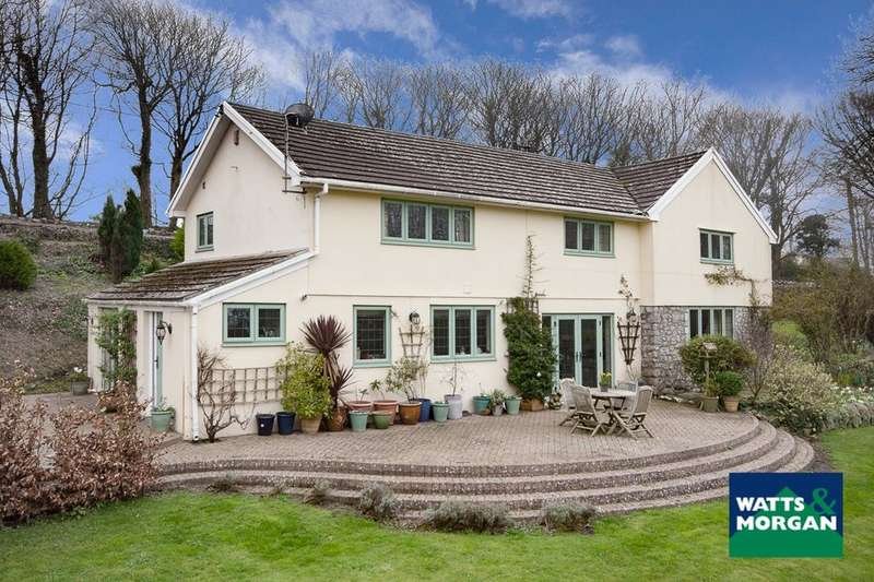 5 Bedrooms Detached House for sale in St Donats, Near Llantwit Major, Vale of Glamorgan, CF61 1ZB