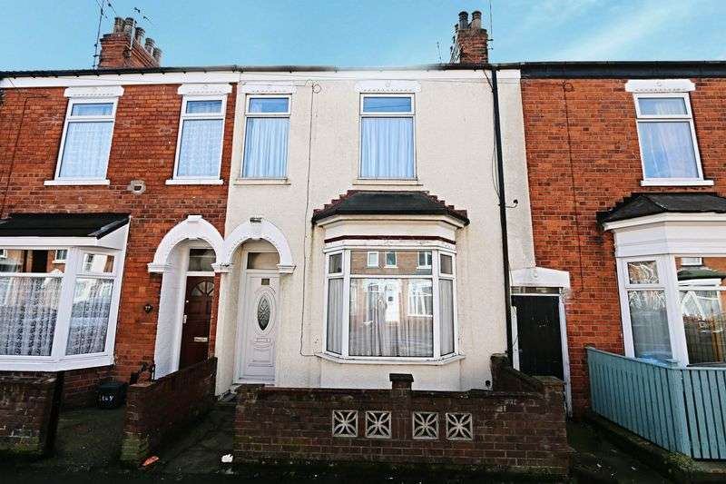 3 Bedrooms Terraced House for sale in Thoresby Street, Hull