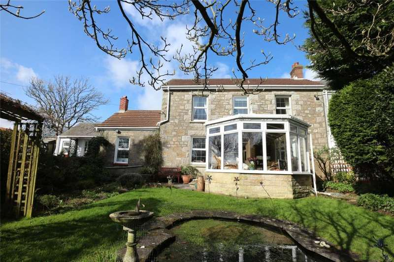 3 Bedrooms Semi Detached House for sale in Lower Condurrow, Beacon, Camborne