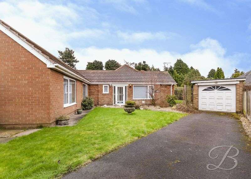 2 Bedrooms Detached Bungalow for sale in Robin Down Close, Mansfield