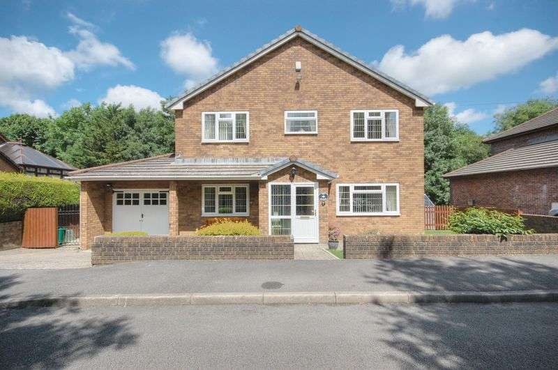 4 Bedrooms Detached House for sale in Ivor Park, Brynsadler, Pontyclun, CF72 9BF