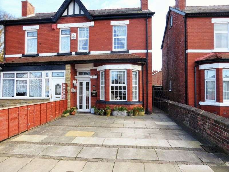 3 Bedrooms Semi Detached House for sale in Rufford Road, Crossens, Southport