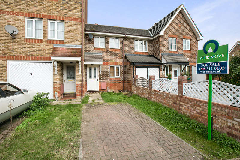 2 Bedrooms Property for sale in Sunningdale Close, North Thamesmead , London, SE28