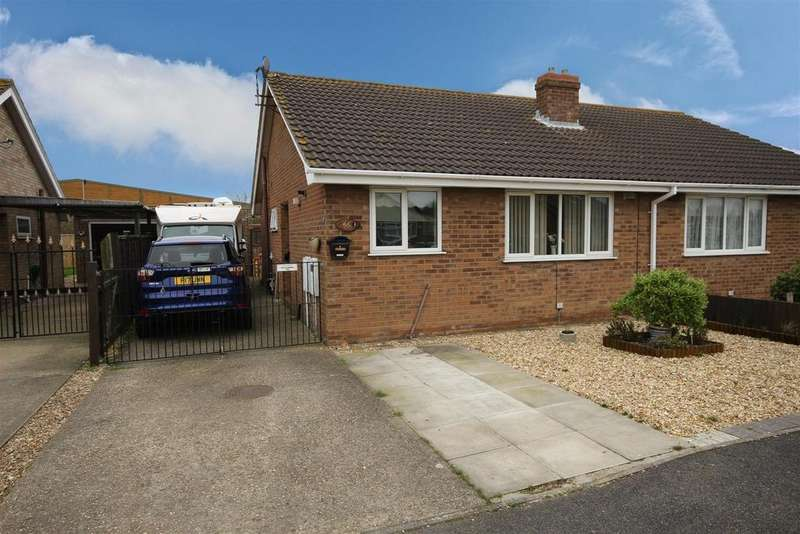 2 Bedrooms Semi Detached Bungalow for sale in 56 Jacklin Crescent, Mablethorpe