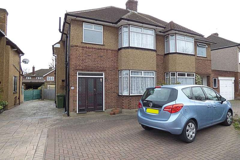 3 Bedrooms Semi Detached House for sale in Trent Avenue, Upminster RM14