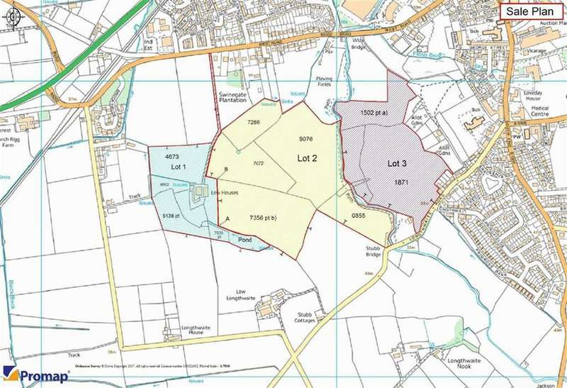 Land Commercial for sale in Low Houses, Wigton, Cumbria