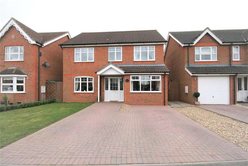 4 Bedrooms Detached House for sale in Allington Drive, Great Coates, DN37