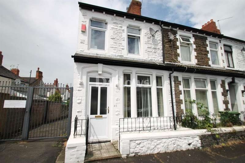 2 Bedrooms End Of Terrace House for sale in Stockland Street, Grangetown
