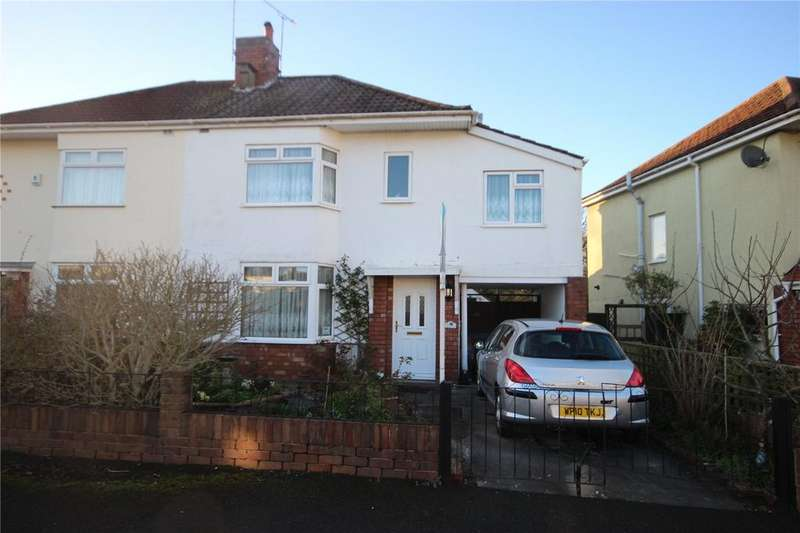 4 Bedrooms Semi Detached House for sale in Lakewood Crescent, Westbury-on-Trym, Bristol, BS10