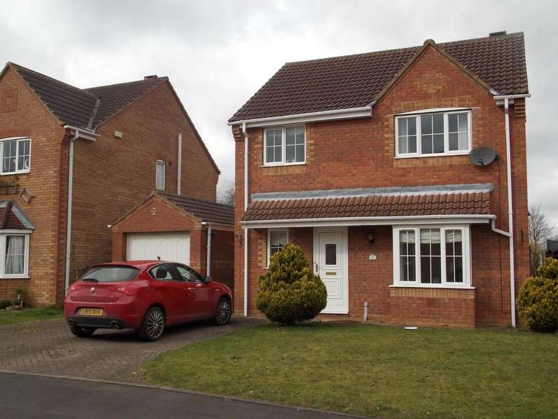 3 Bedrooms Detached House for sale in Dursley Court, Auckley