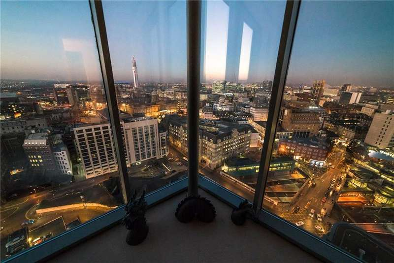 3 Bedrooms Penthouse Flat for sale in The Orion Building, Navigation Street, Birmingham City Centre, West Midlands, B5
