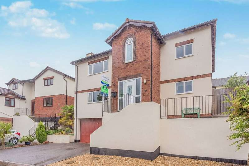 4 Bedrooms Detached House for sale in Meadow View, Ogwell, Newton Abbot, TQ12