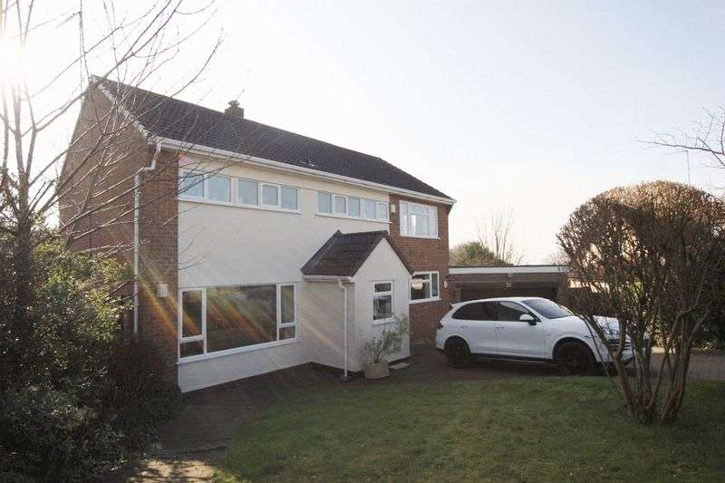 4 Bedrooms Detached House for sale in Hinderton Drive, Lower Heswall, Wirral