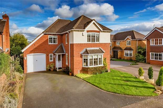 4 Bedrooms Detached House for sale in 28 Mayfair Grove, Priorslee, Telford, Shropshire