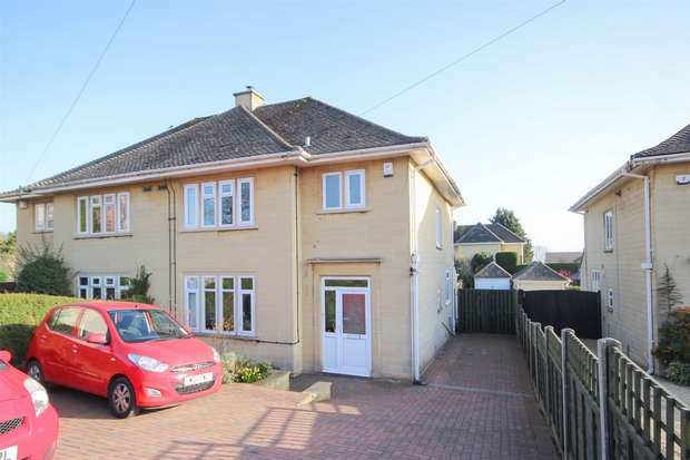 3 Bedrooms Semi Detached House for sale in Bradford Road, Combe Down, BATH
