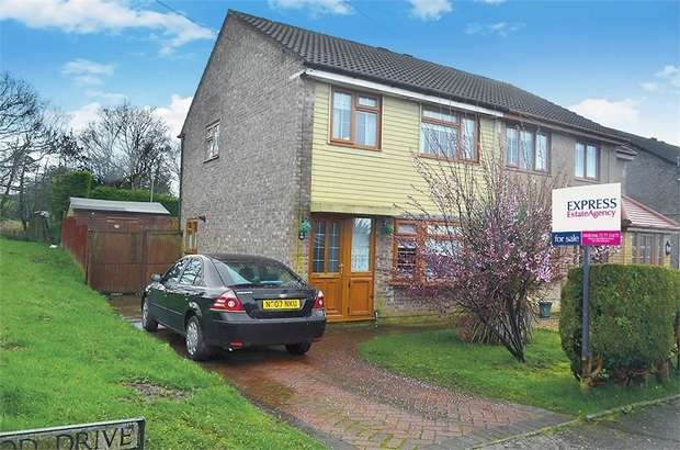 3 Bedrooms Semi Detached House for sale in Greenwood Drive, Cimla, Neath, West Glamorgan
