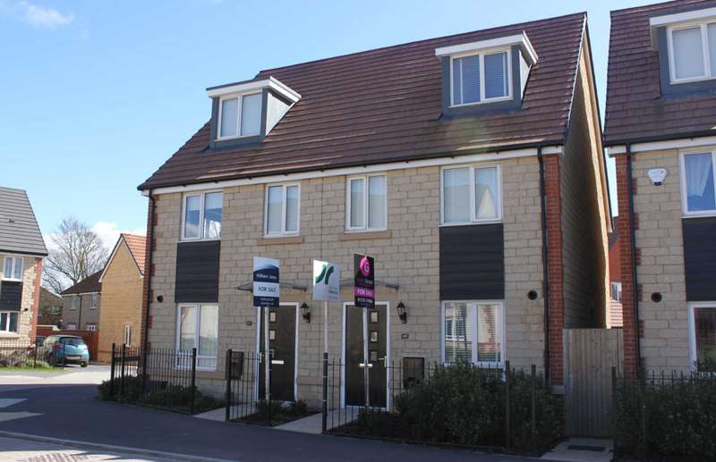 3 Bedrooms Semi Detached House for sale in Cherry Tree Road, Didcot
