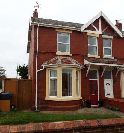3 Bedrooms Semi Detached House for sale in Snowdon Road, Lytham St. Annes, Lancashire, FY8